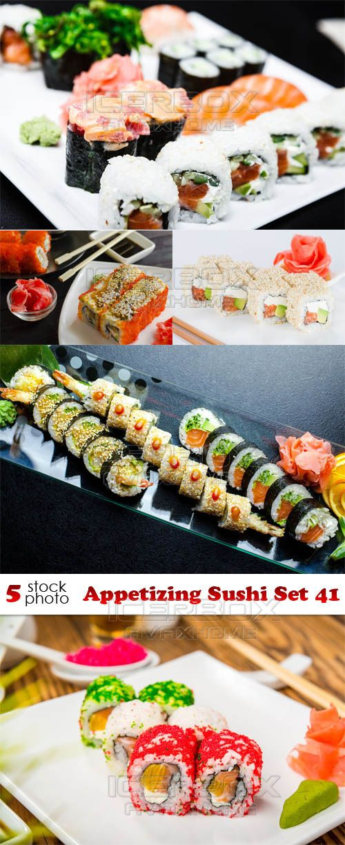 Photos - Appetizing Sushi Set 41