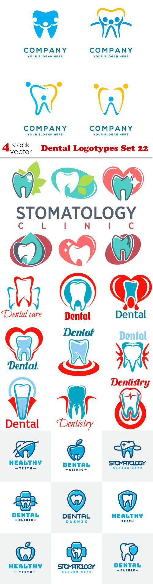 Vectors - Dental Logotypes Set 22