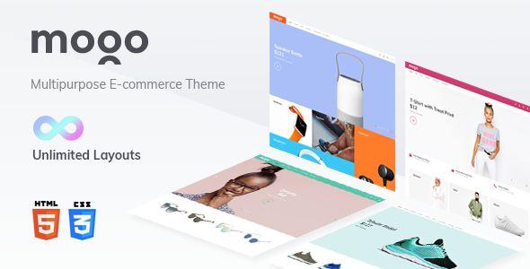 ThemeForest - MOGO v1.0 - eCommerce HTML Template, Electronics Store