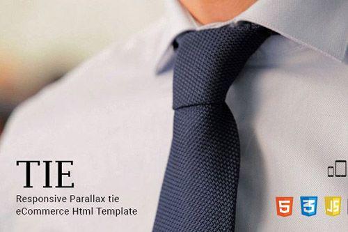 CreativeMarket - Tie - eCommerce Html Template