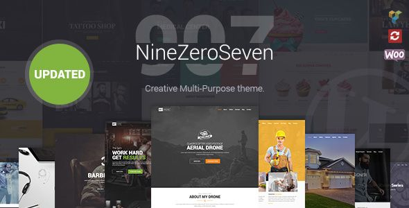 907 v4.1.4 - Responsive Multi-Purpose Theme