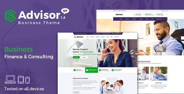 Advisor v1.4.1 - Consulting, Business, Finance Theme