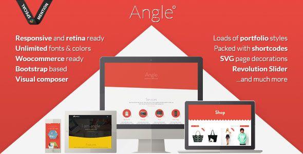Angle v1.18.12 - Flat Responsive Bootstrap MultiPurpose Theme