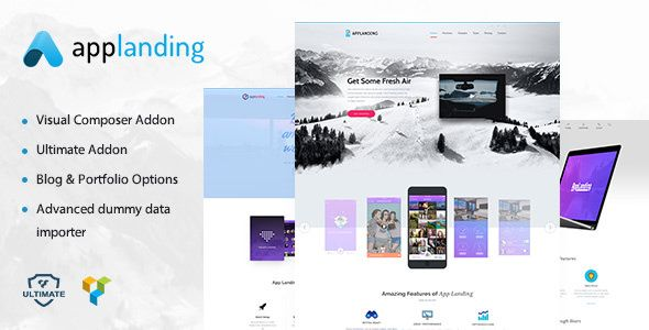 App Promotion v1.2 - One Page App Promotion Theme