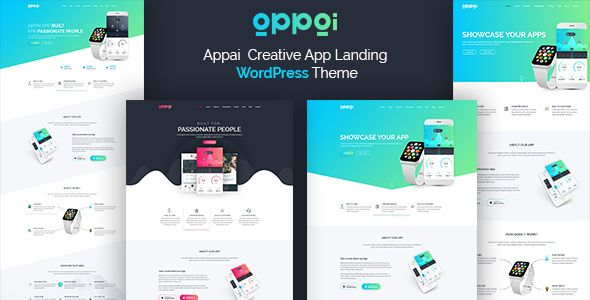 Appai v1.1.2 - App Landing WordPress Theme