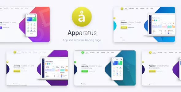 Apparatus v1.0.2 - A Multi-Purpose One-Page Landing Theme
