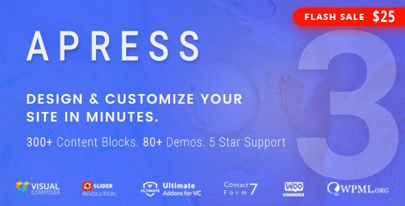 Apress v3.0.2 - Responsive Multi-Purpose Theme