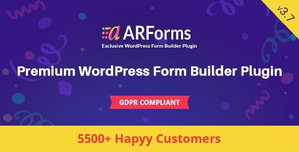 ARForms v3.7.1 - WordPress Form Builder Plugin