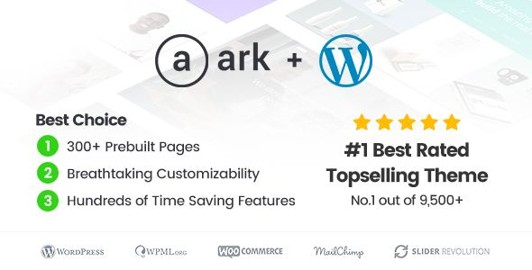 The Ark v1.39.0 - Multi-Purpose WordPress Theme