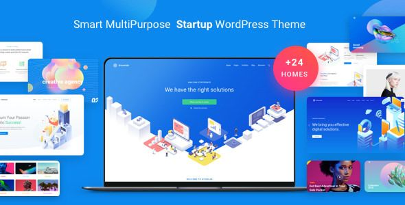 Atomlab v1.3.5 - Multi-Purpose Startup WordPress Theme