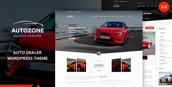 Autozone v2.3.1 - Automotive Car Dealer