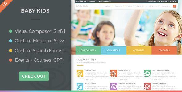 Baby Kids v3.0 - Education Primary School For Children