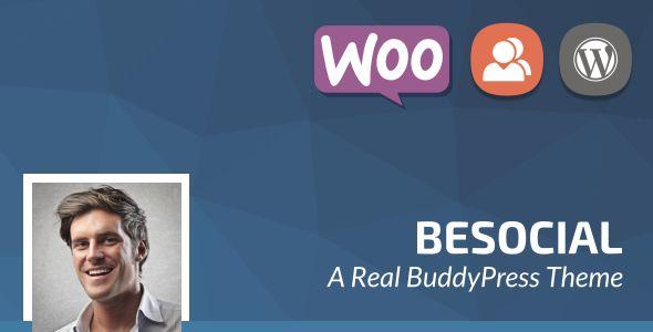 Besocial v3.7 - BuddyPress Social Network & Community
