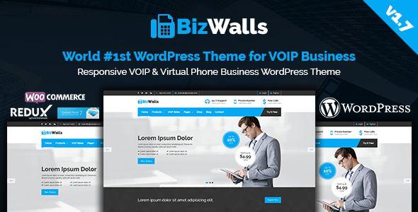 BizWalls v1.7 - Responsive VOIP & Virtual Phone Business