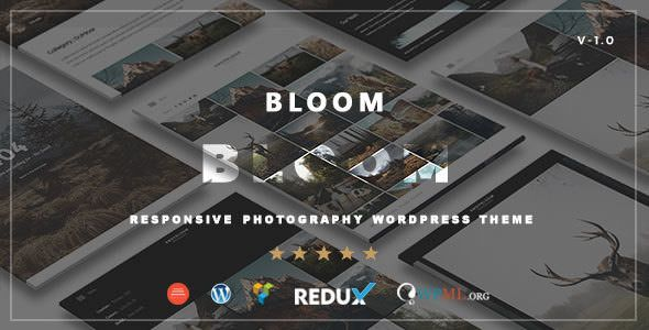 Bloom v1.0 - Responsive Photography / Portfolio Theme