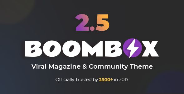 BoomBox v2.5.8 - Viral Magazine WordPress Theme