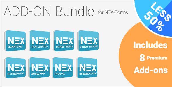 Add-on Bundle For NEX-Forms - WordPress Form Builder