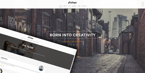 Calliope v1.0.8 - Portfolio & Agency WordPress Theme