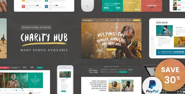 Charity Foundation v1.1 - Charity Hub WP Theme