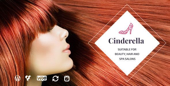 Cinderella v2.0 - Theme For Beauty, Hair And SPA Salons