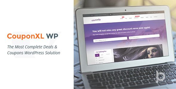 CouponXL v4.2.0 - Coupons, Deals & Discounts WP Theme