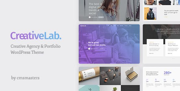Creative Lab v1.0.7 - Creative Studio Portfolio & Agency