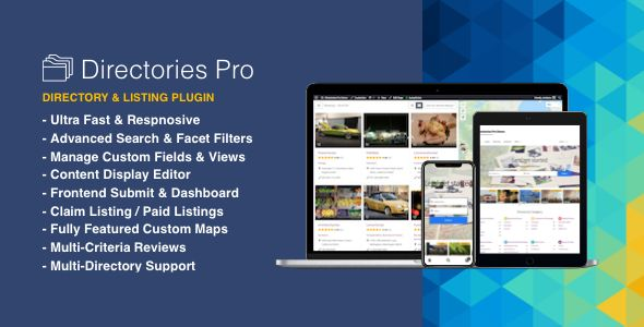 Directories Pro Plugin For WordPress v1.2.30