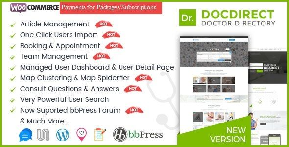 Directory DocDirect v7.8 - Theme For Doctors And Healthcare