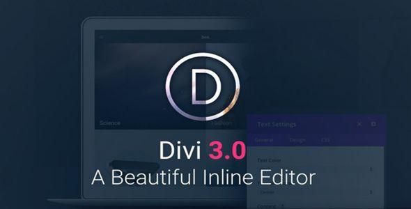 Divi v3.18.1 - Elegantthemes Premium WordPress Theme