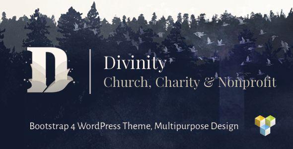 Divinity v1.3.1 - Church, Nonprofit, Charity Events Theme