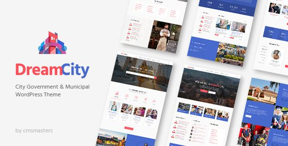 Dream City v1.0.7 - City Portal & Government Municipal Theme