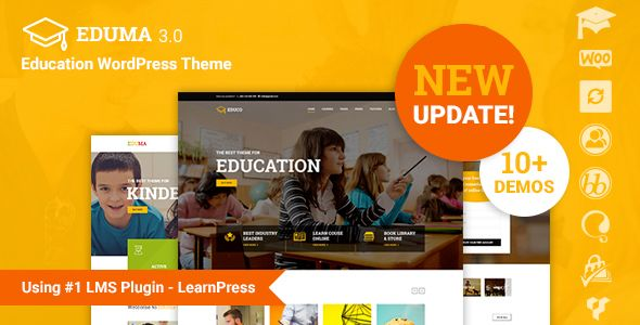 Education WP v3.5.0 - Education WordPress Theme