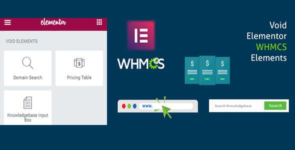 Elementor WHMCS Elements Pro For Elementor Builder v2.4