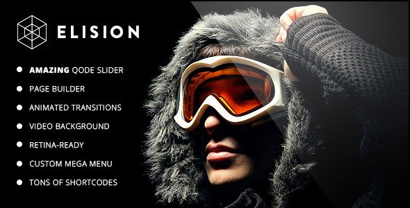 Elision v4.1.1 - Retina Multi-Purpose WordPress Theme