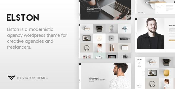 Elston v1.5.1 - Portfolio For Freelancers & Agencies