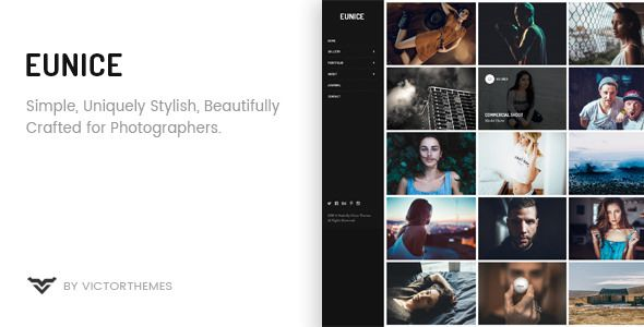 Eunice v1.4 - Photography Portfolio WordPress Theme