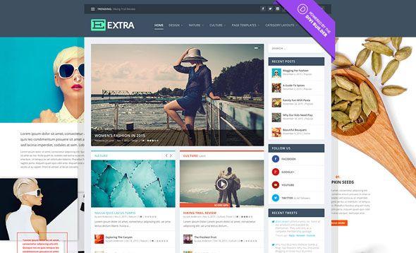 Extra v2.15 - Elegantthemes Premium WordPress Theme