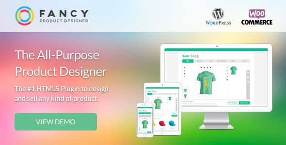 Fancy Product Designer v3.9.6 - WooCommerce Plugin