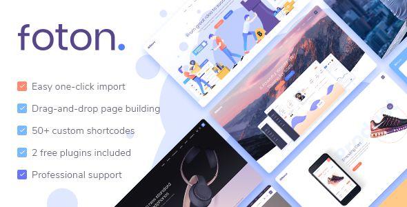 Foton v1.3 - A Multi-Concept Software Landing Theme