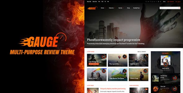 Gauge v6.36 - Multi-Purpose Review Theme