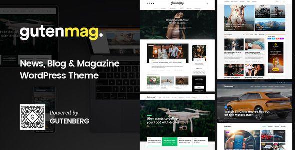 GutenMag v1.1.3 - Gutenberg Theme For Magazine And Blog