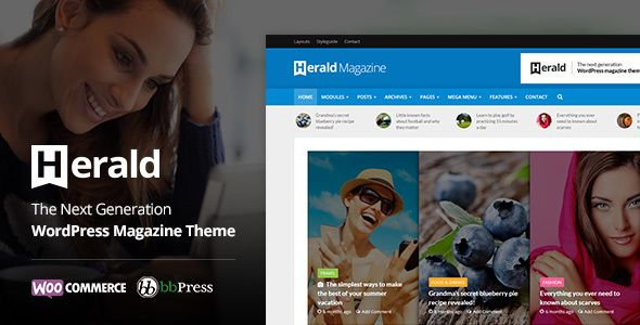 Herald v2.1.2 - News Portal & Magazine WordPress Theme