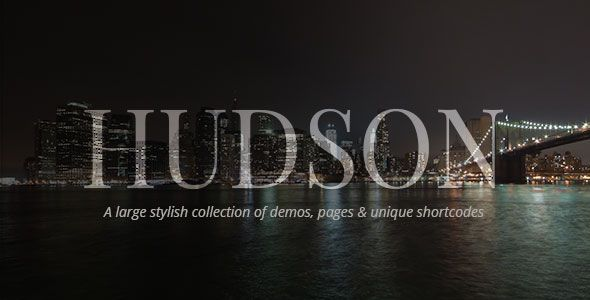 Hudson v2.0 - Personal, Professional, Advanced Theme