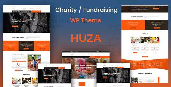 Huza v1.3 - Charity/Fundraising Responsive Theme