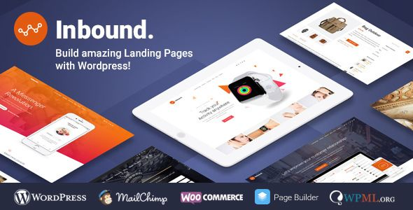 Inbound v1.2.16 - WordPress Landing Page Theme