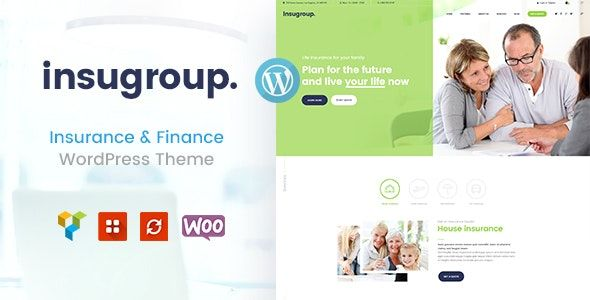 Insugroup v1.0.6 - A Clean Insurance & Finance WordPress Theme