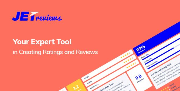 JetReviews v1.1.1 - Reviews Widget For Elementor