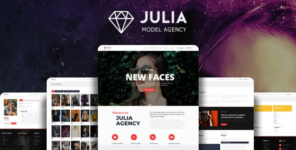 Julia v1.8.3 - Talent Management WordPress Theme