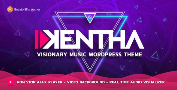 Kentha v1.3.4 - Visionary Music WordPress Theme