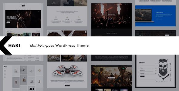 Khaki v1.1.2 - Responsive Multi-Purpose WordPress Theme